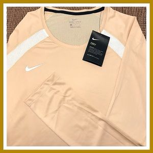 Nike Long Sleeve Dri-Fit, Breathable Top